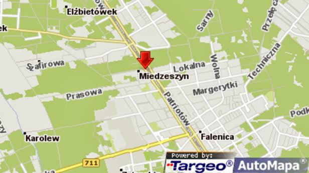 Wypadek na Patriotów targeo.pl