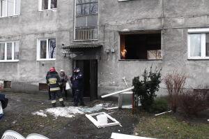 Wybuch gazu na Pradze. Ranna kobieta