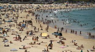 Fala upałów w Australii (PAP/EPA/JOEL CARRETT)