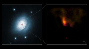 Formująca się planeta gwiazdy HD 100546 (ESO)