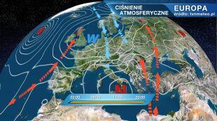 Do Polski płynie zimne i wilgotne powietrze
