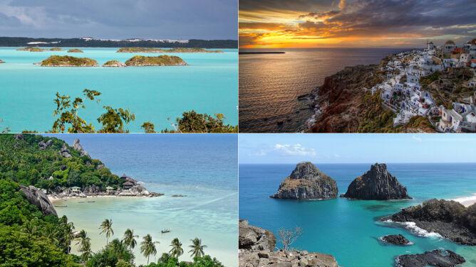 Dokąd na wakacje? 10 najlepszych rajskich wysp