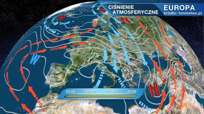 Florenz będzie rządzić pogodą w Polsce